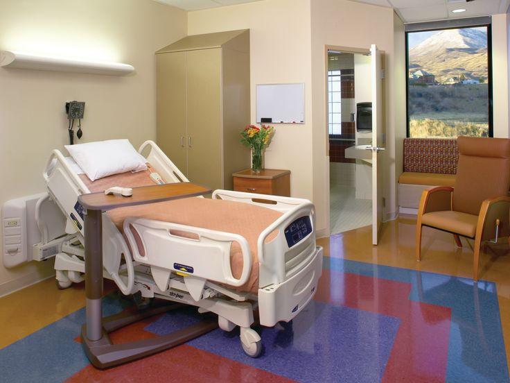 Utah Valley Specialty Hospital - Patient room