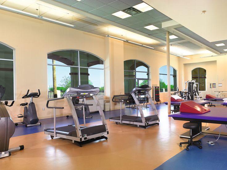 South Texas Rehabilitation Hosptial - Gym