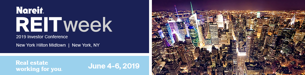 Nareit REITweek: 2019 Investor Conference