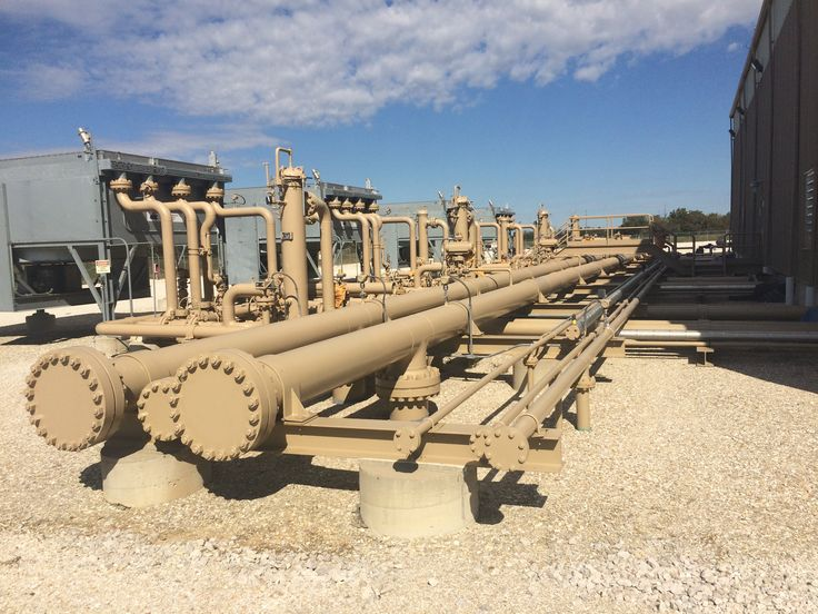 MoGas Pipeline System compressor station in Curryville MO