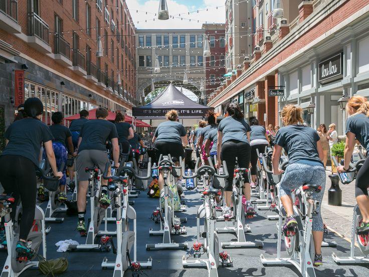 Bethesda Row_Cycle Class